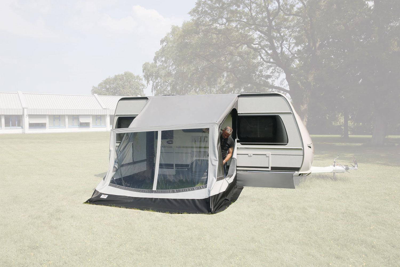 5. Schritt: Zelt aufstellen.